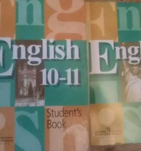 Английский язык. 10-11 кл.