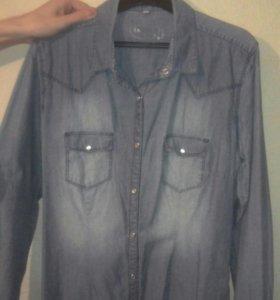 Джинсовая рубашка, Левис, р.44-48