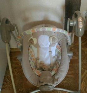Электрокачели baby mix
