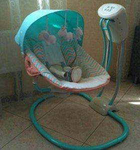 Электрическая качель Happy Baby Relaxer +подарок