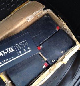 Аккумулятор 12В 12А