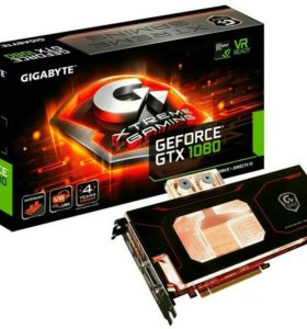 Видеокарта Gigabyte GeForce GTX1080, GV-N1080XTR