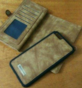 Бумажник чехол на iPhone 6 plus