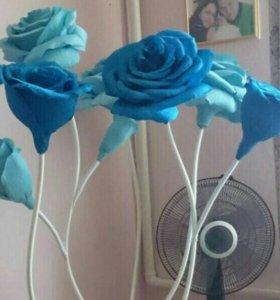 Ростовые цветы из бумаги