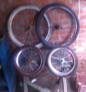 Продам колеса на велосипед,