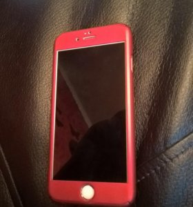 Чехол iPhone 6,red line