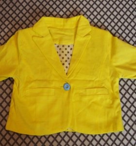 Детский пиджак на 95-100см.