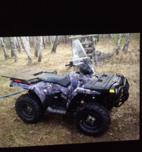 Polaris sportsmen-500efi