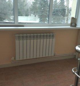Биметаллический радиатор 12 секций