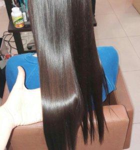 Полировка волос,ботокс,кератиновое выпрямление