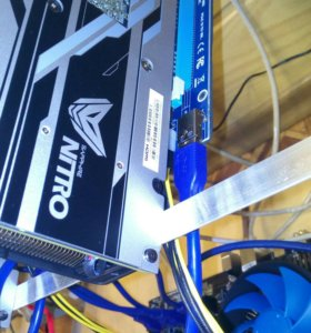 Райзер видеокарт Riser Card PCI-E 1X 16X USB 60см