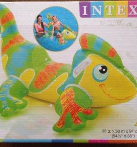 Надувная игрушка ящерица