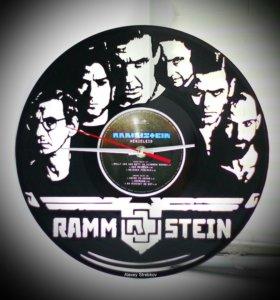 Оригинальный подарок. Часы Rammstein.