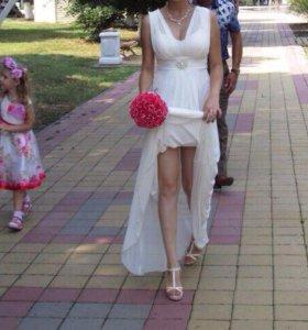 Свадебное -вечернее платье