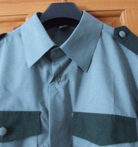 """Новая Рубашка """"Охранник"""" длинный рукав."""