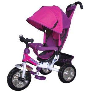 """Велосипед 3-х колес.10""""-8""""""""Formula""""цвет розовый"""