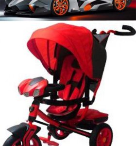 Lamborghini Egoist 12' и 10'надув.колеса,красный