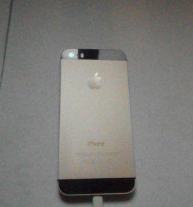 Iphone cream gold 5s