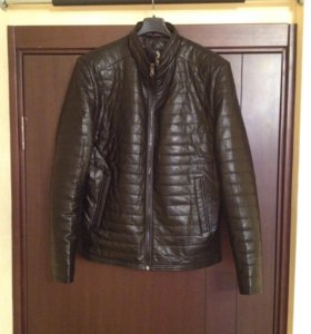 Новая куртка экокожа мужская межсезон.