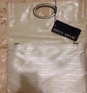 Новая сумка из натуральной кожи  RIPANI
