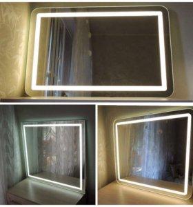 Зеркало с подсветкой под ваш интерьер