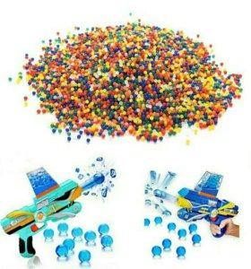 10000 шаров растуших в воде