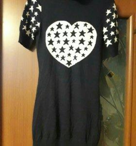 Платье теплое 44р