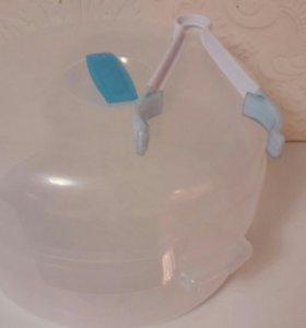 Стерилизатор бутылочек паровой для микроволновки