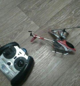 Вертолёт на пульте управленя