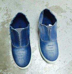 Слипоны обувь новая