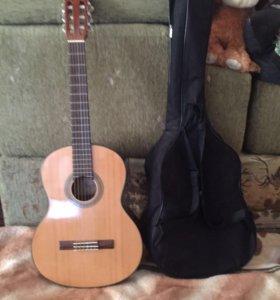 Гитара, чехол и автотюнер
