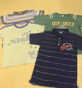 4 футболки на 4 года