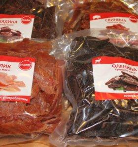 Мясо сушеное (вяленое)