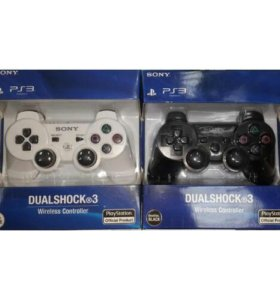 Новые два геймпада Dualshock 3 Sixaxis