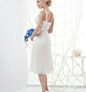 Платье нарядное, коктейльное, свадебное