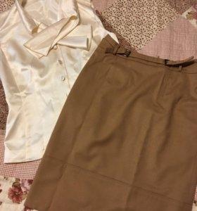 Юбка и блузка р.42