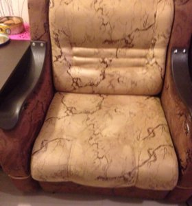 Кресло  и диван кровать
