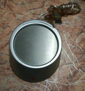 USB хаб 4 гнезда с подогревом для кружки