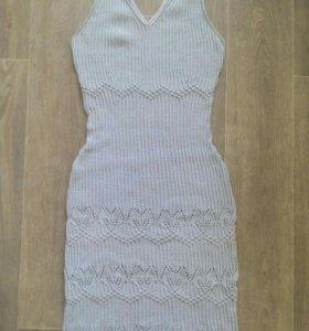 Новое ажурное облегающее платье