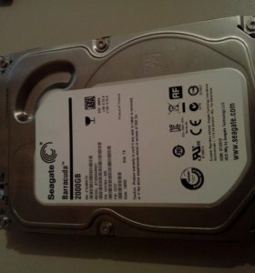 Жесткий диск seagate 2ТБ