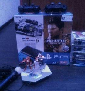 Sony PlayStation 3 супер Слим (500GB)