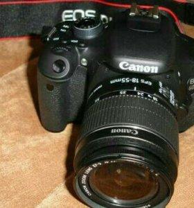 Canon eos 600d в идеальном сост.Обмен или покупка.