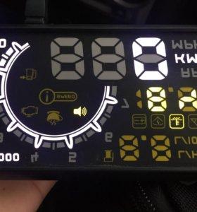Авто проектор на стекло