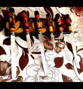 Набор ножей на креплении