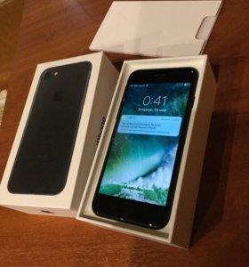 Iphone 7 128gb black (2 дня бу)
