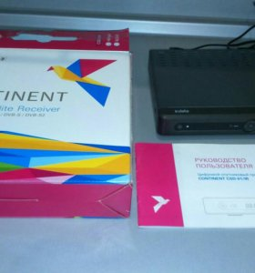 Цифровой спутниковый приемник Continent CSD-01/IR