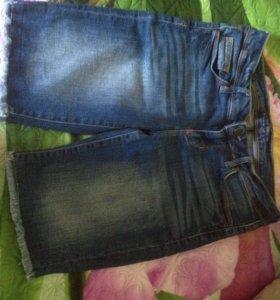 Шорты джинсовые 44 размер