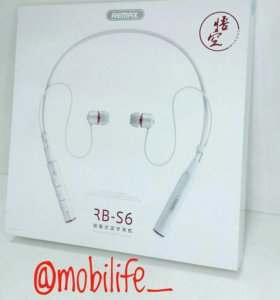 Bluetooth-гарнитура Remax RB-S6 Sporty Earphone