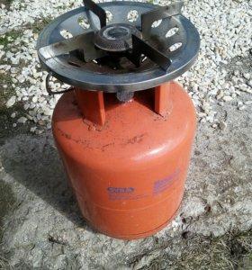Итальянский газовый  балон,новый 8л .