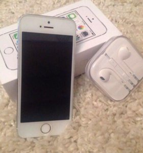 iPhone 5s, silver
